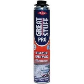 Dow Great Stuff Pro Fire Rated Gun Foam 750ml