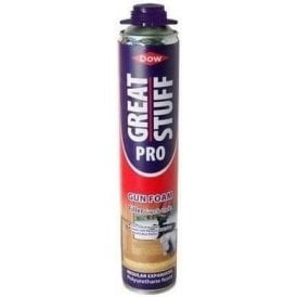 Dow Great Stuff Pro Gun Foam Filler - Gaps & Cracks 750ml