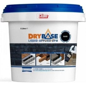 Drybase Liquid Applied DPM Black 1 Litre