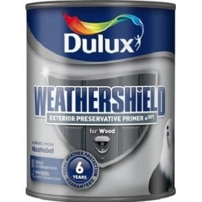 Dulux Weathershield Preservative Exterior Primer + 750ml 5141228