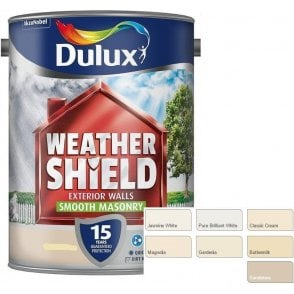 Dulux Weathershield Smooth Masonry Paint 5 Litre