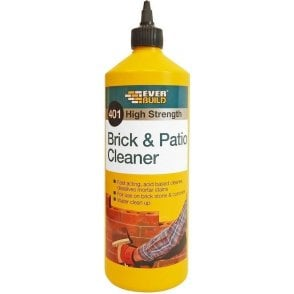 Everbuild 401 Brick & Patio Cleaner 1L