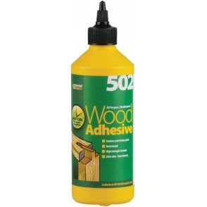 Everbuild 502 Weatherproof Wood Adhesive 500ml