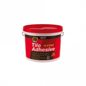 Everbuild 703 Fix & Grout Tile Adhesive 10L