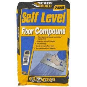 Everbuild 708 Self Level Floor Compound 20kg