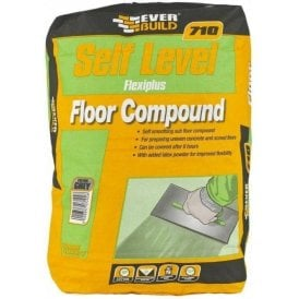 Everbuild 710 Self Level Flexiplus Floor Compound 20Kg