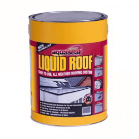 Everbuild Aquaseal Liquid Roof Black 7kg
