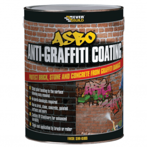 Everbuild Asbo Anti Graffiti semi Gloss Clear Coating 5 ltr