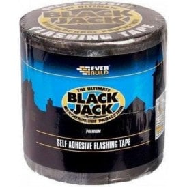 Everbuild Black Jack Self Adhesive Flashing Tape
