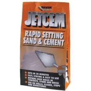 Everbuild Jetcem Premix Rapid Setting Sand and Cement 2kg