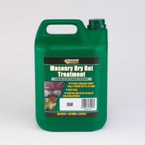 Everbuild Masonry Dry Rot Treatment 5L