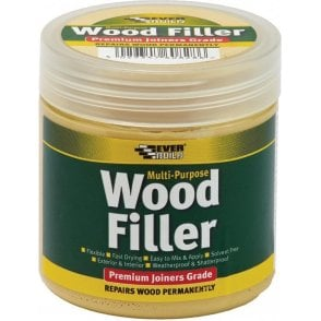 Everbuild Multi Purpose Premium Joiners Grade Wood Filler White 250ml
