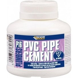 Everbuild P16 PVC Pipe Cement 250ml
