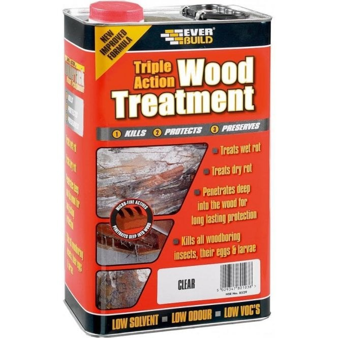 Everbuild Triple Action Wood Treatment 1L
