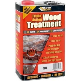 Everbuild Triple Action Wood Treatment 5L