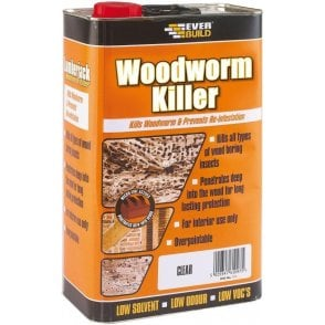 Everbuild Woodworm Killer 5L
