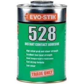 EVO STIK 528 Instant Contact Adhesive Tin 1 Litre