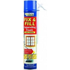 Fix and Fill Expanding Foam 750ml
