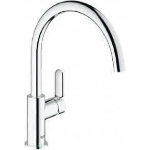 "Grohe BauEdge Single Lever Kitchen Sink Mixer Tap 1/2"" - 31367000"