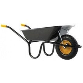 Haemmerlin 9004 Camden Classic Wheelbarrow Puncture Free Tyre Black 85L