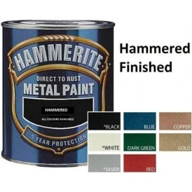 Hammerite Metal Paint 250ml - Hammered