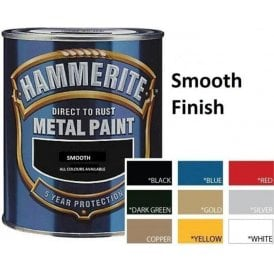 Hammerite Metal Paint 250ml - Smooth