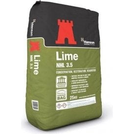 Hanson Hydraulic Lime 3.5 25Kg Bag
