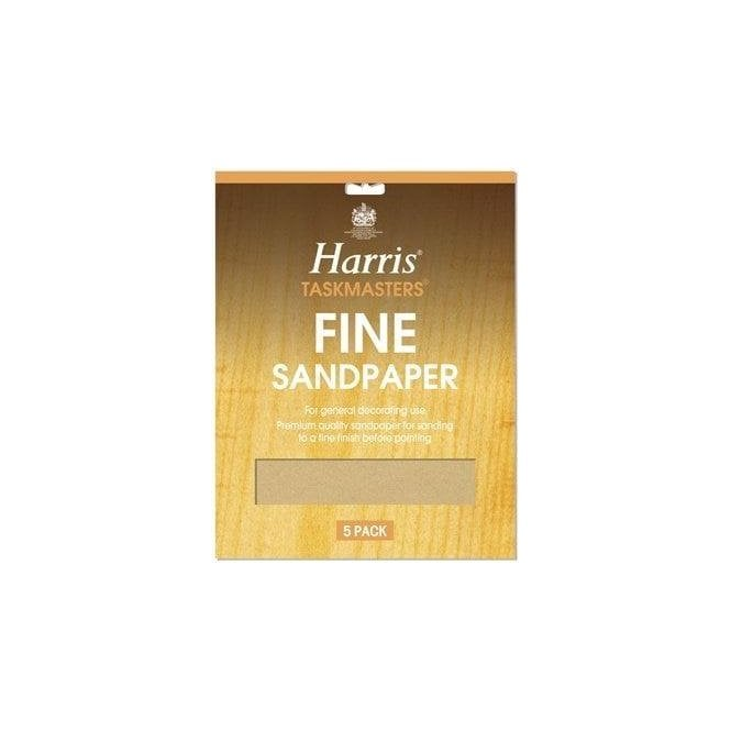 Harris Pk 5 Sheets Fine Sandpaper 327
