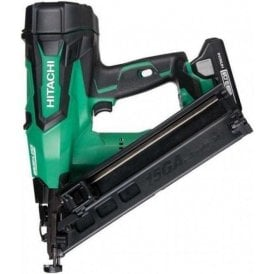 Hitachi NT1865DBAL/JX  Brushless 15Ga Angled Nailer with 2 x 3.Ah Li ion Batteries
