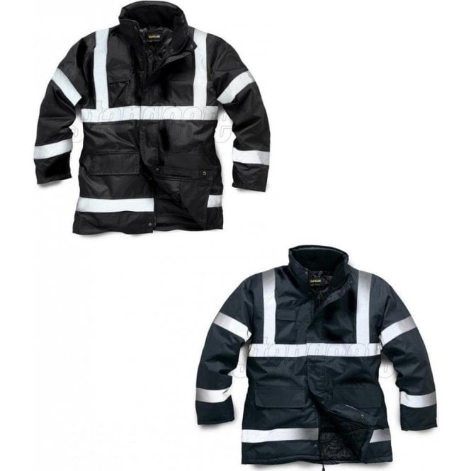 HV017 Standsafe Security Parka Jacket