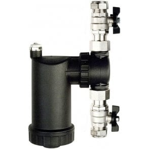 IntaKlean Magnetic Filter with Isolating Ball Valves 22mm