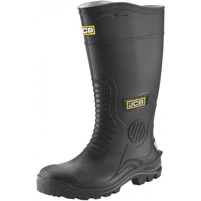 JCB Wellington Boot S5 Black