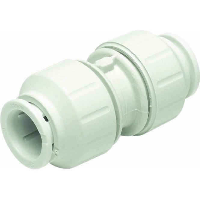 JG Speedfit PEM0415W Straight Connector 15mm (Pack of 10)