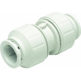 JG Speedfit PEM0422W Straight Connector 22mm (Pack of 5)
