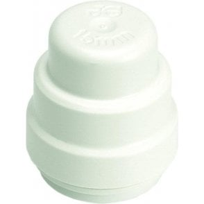 JG Speedfit PSE4622W Stop End 22mm (Pack of 5)