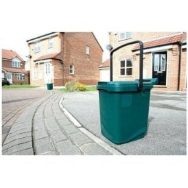 Kerbside Caddy Composter with Handle 23L Green