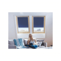 Keylite Centre Pivot Roof Window 550x980mm CP02T
