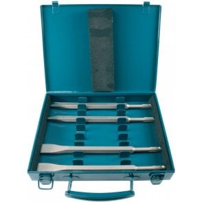 Makita 4 Piece Chisel Set SDS+ D-08757