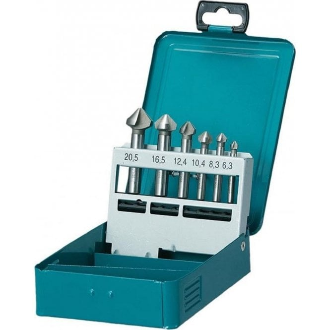 Makita 6 Piece Countersunk set D-42204