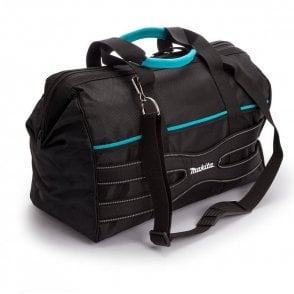 Makita Blue Collection P-71990 Tool Bag Gate Mouth 20""