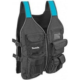 Makita Blue Collection P-72089 Workers Tool Vest