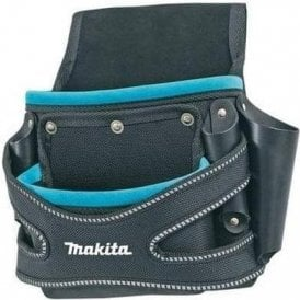 Makita Blue Collection Two Pocket Fixing Pouch P-71750