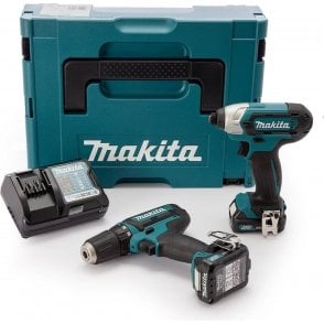 Makita CLX201AJ CXT 2 Piece Kit 10.8V