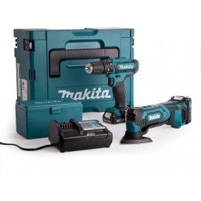 Makita CLX203AJX1 10.8v CXT 2 Piece Kit