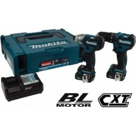 Makita CLX205AJ 10.8v CXT 2 Piece Brushless Drill Driver Kit