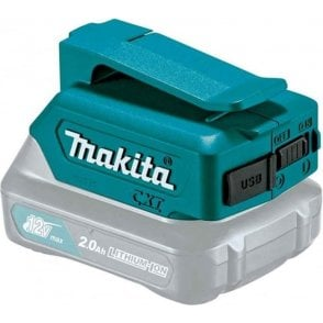 Makita CXT USB Adaptor DEAADP06 for 10.8v Li-Ion Batteries