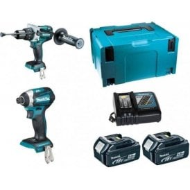 Makita DLX2176TJ 18V LXT 2 Piece Combo Kit