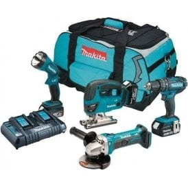 Makita DLX4051PM1 18v LXT 4 Piece Combo Kit