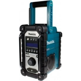Makita DMR104 DAB Job Site Radio Blue