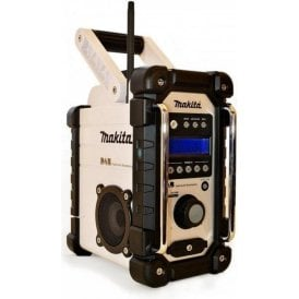 Makita DMR104W DAB Job Site Radio White